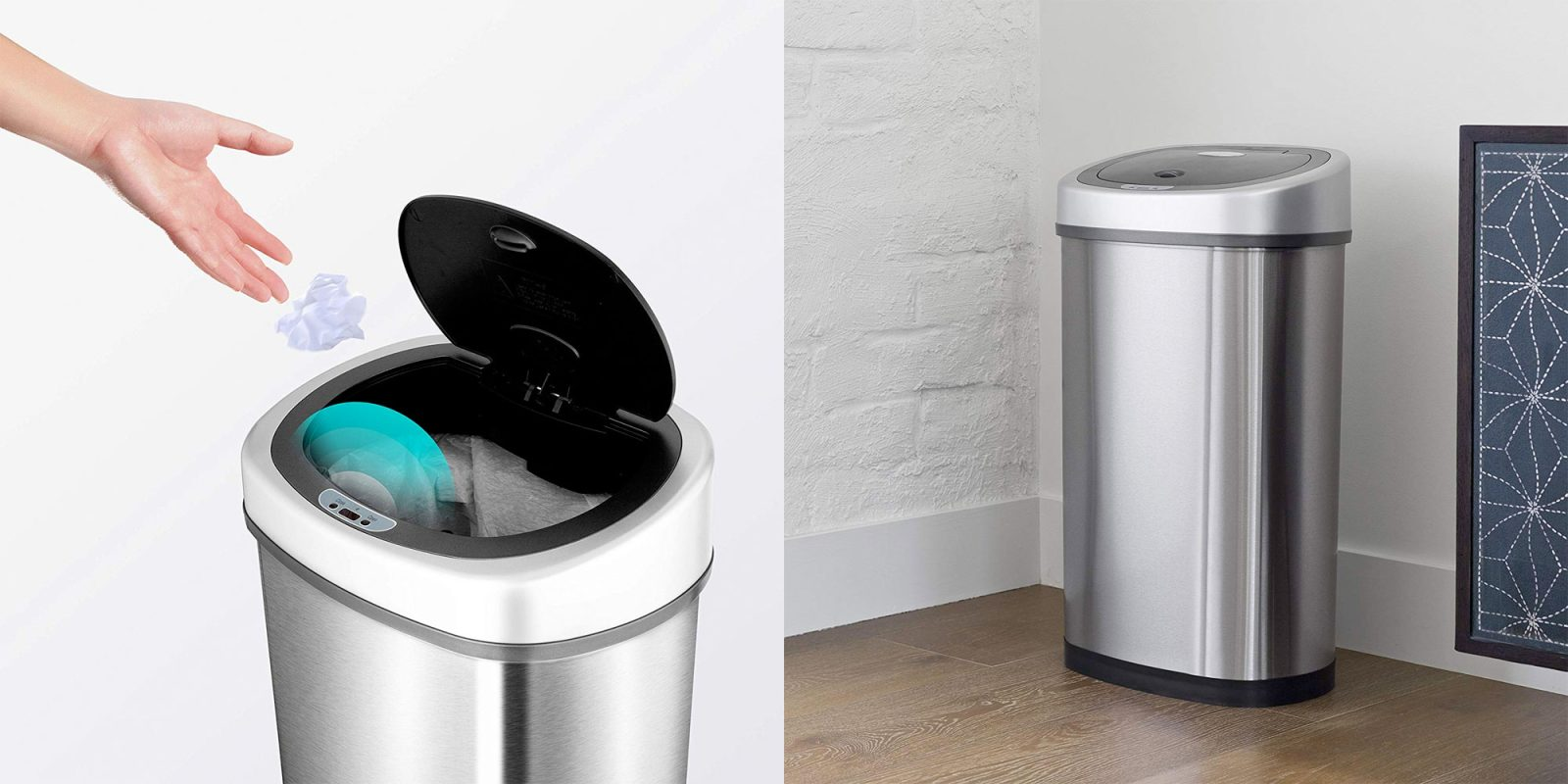 This automatic trash can opens with a wave at its 2019 low of $35 (Reg. $60+)