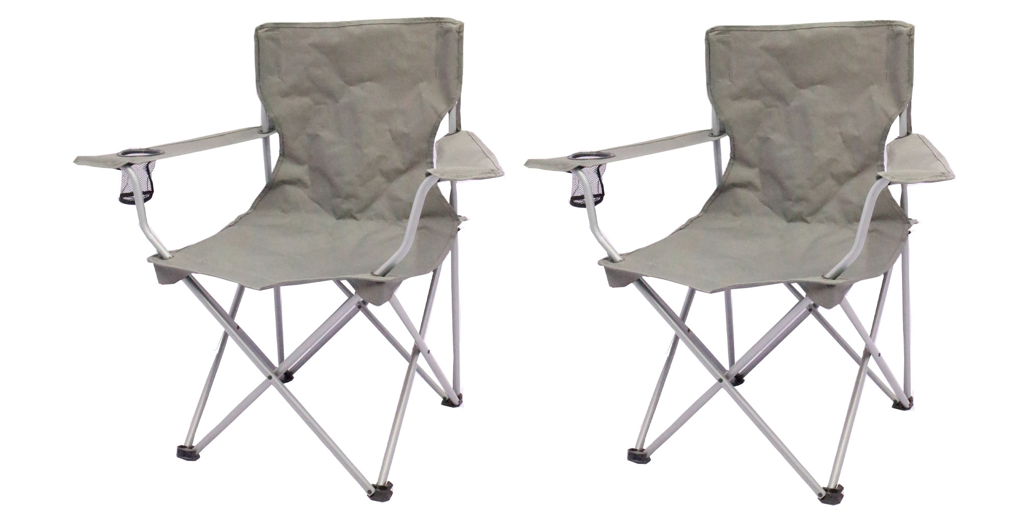 Camp Out With Two Ozark Trail Folding Lawn Chairs For 11 At