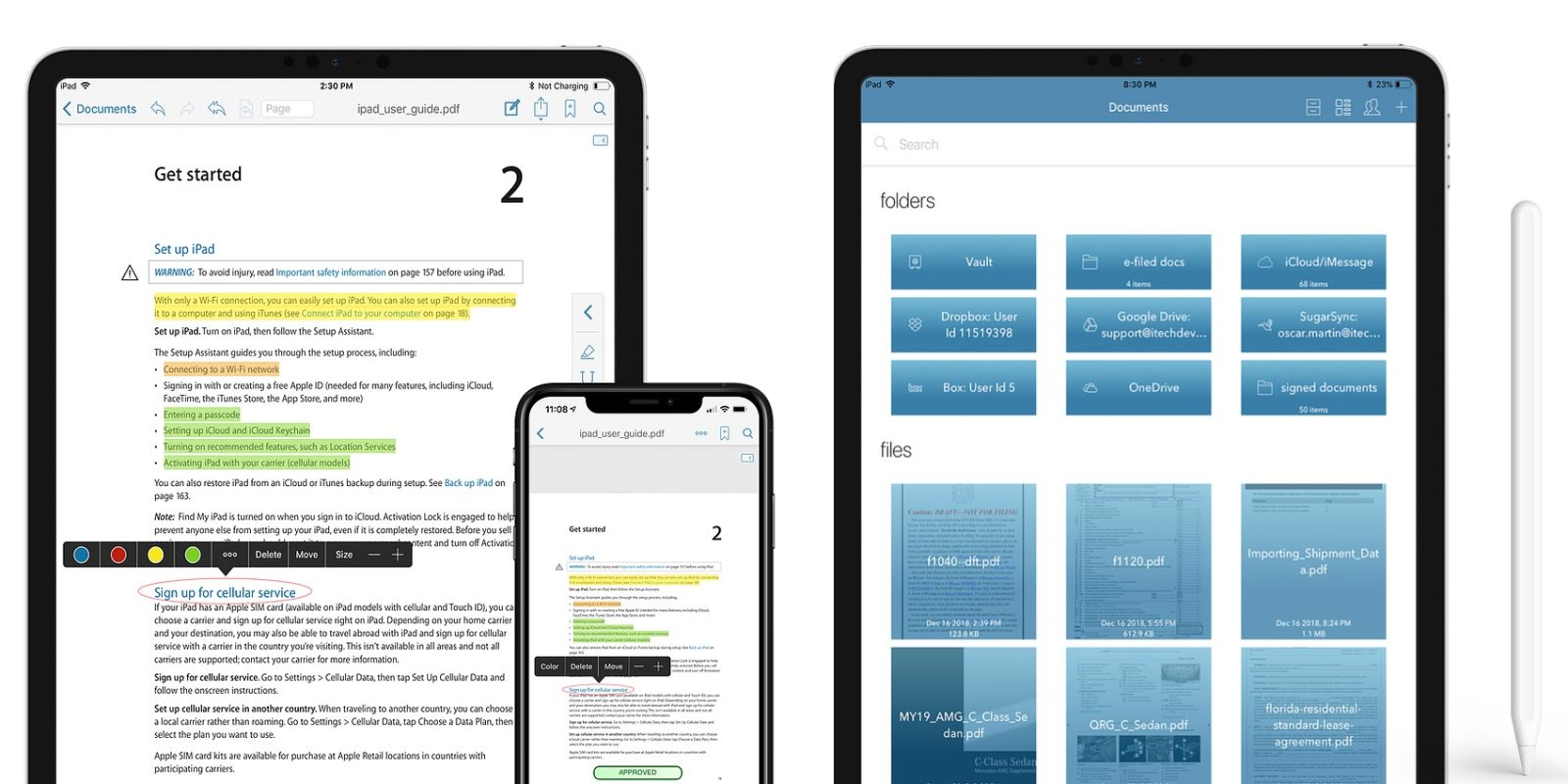 The highly-rated PDF Reader Pro Edition for iOS drops to just $1 (Reg. $10)