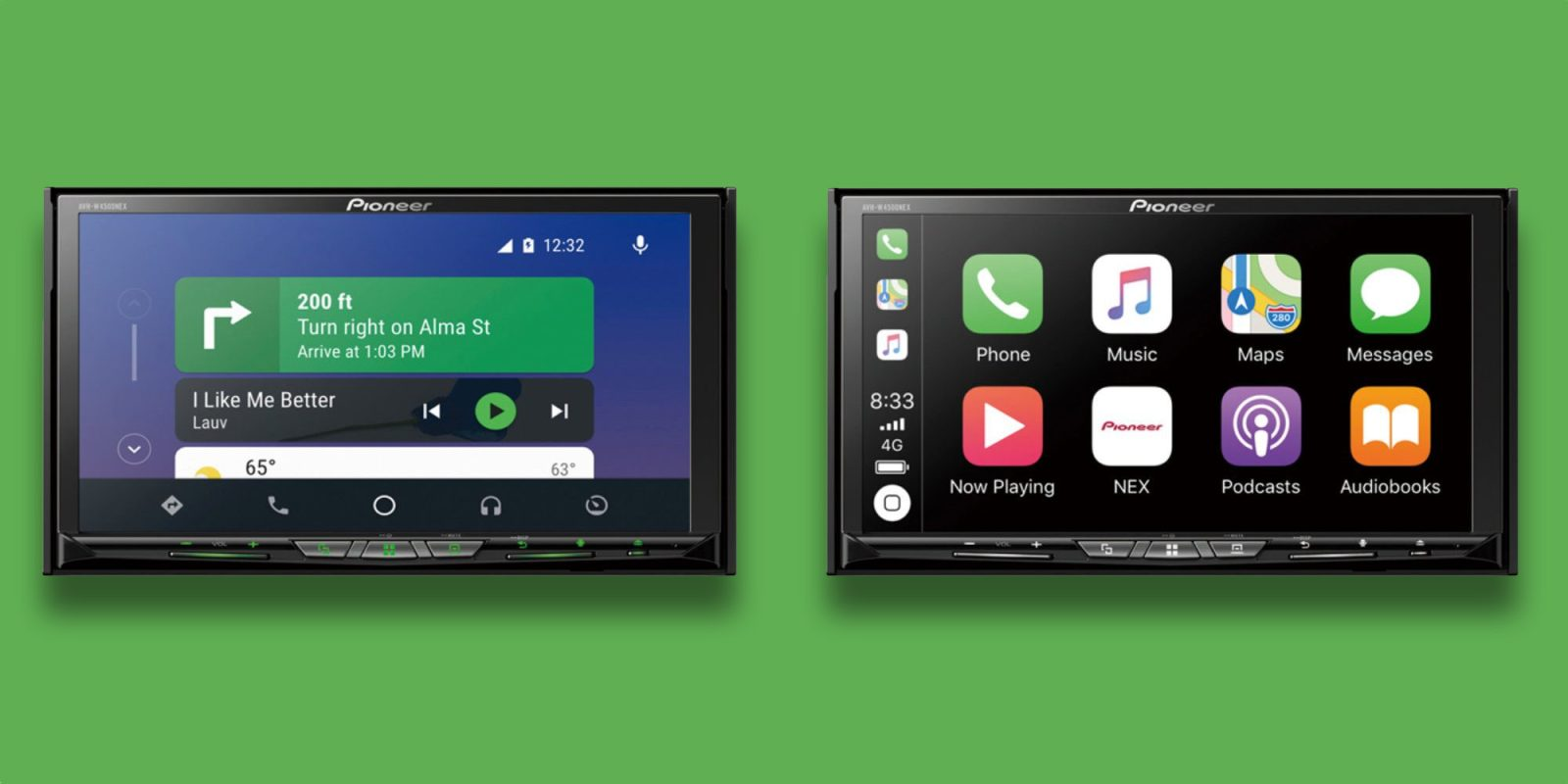 Wireless CarPlay/Android Auto grace Pioneer's 7-inch Receiver: $550 ($145 off)