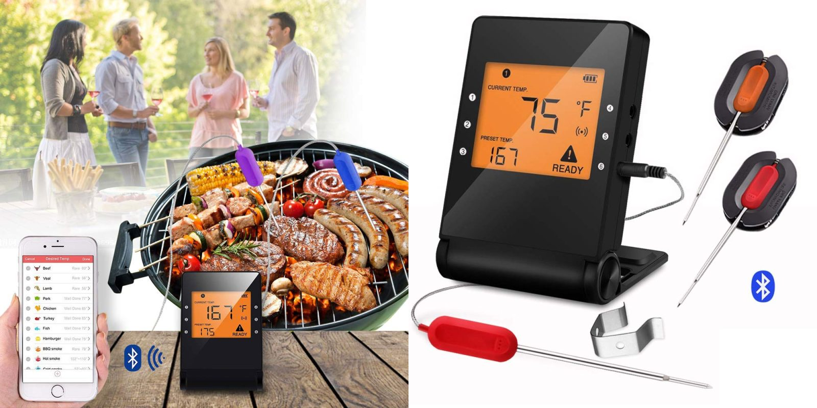 This $30 Bluetooth meat thermometer includes two probes + works w/ iPhone