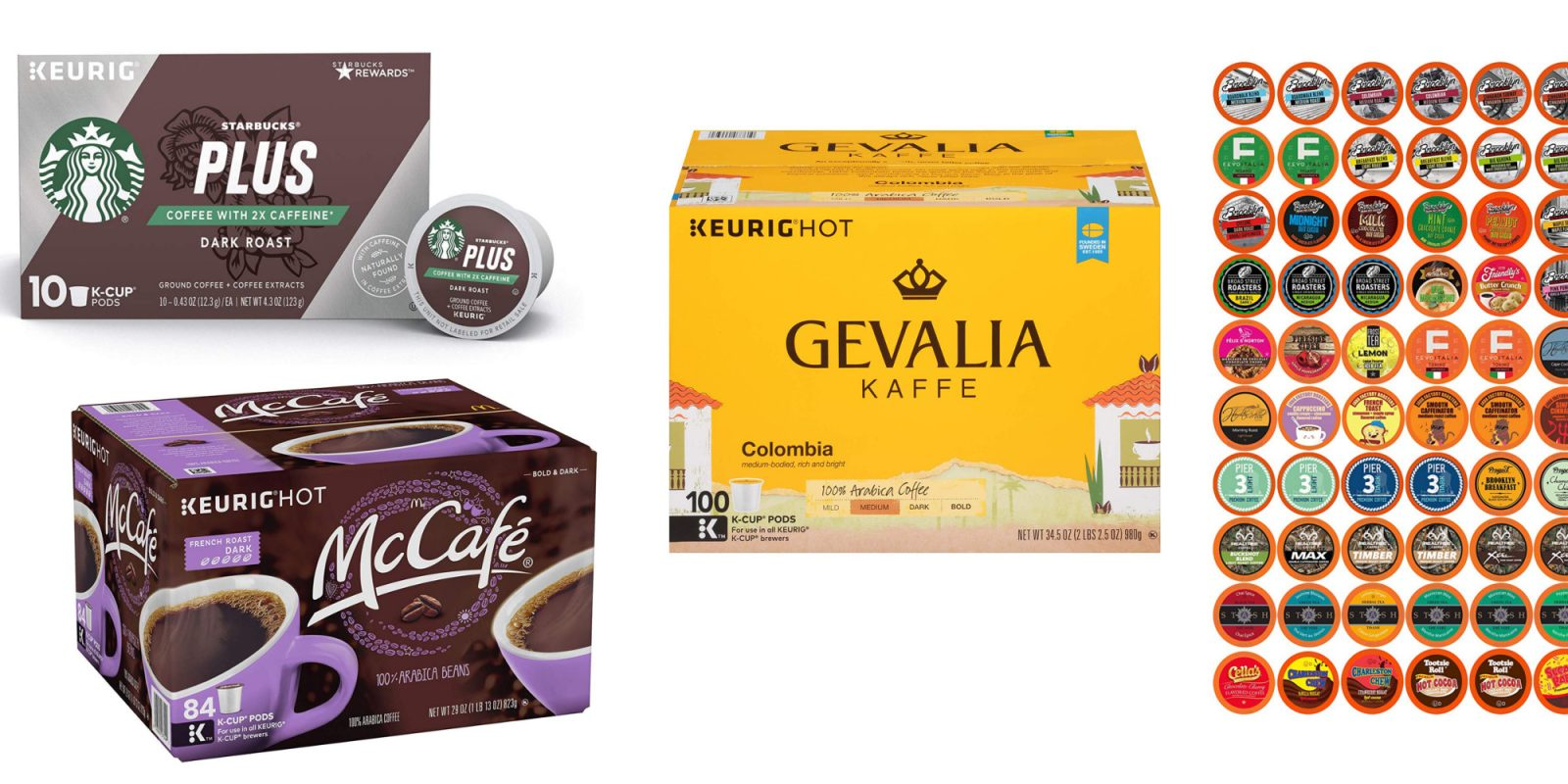 Prime Day coffee pod packs from $21: McCafé, Starbucks, Victor Allen's, more