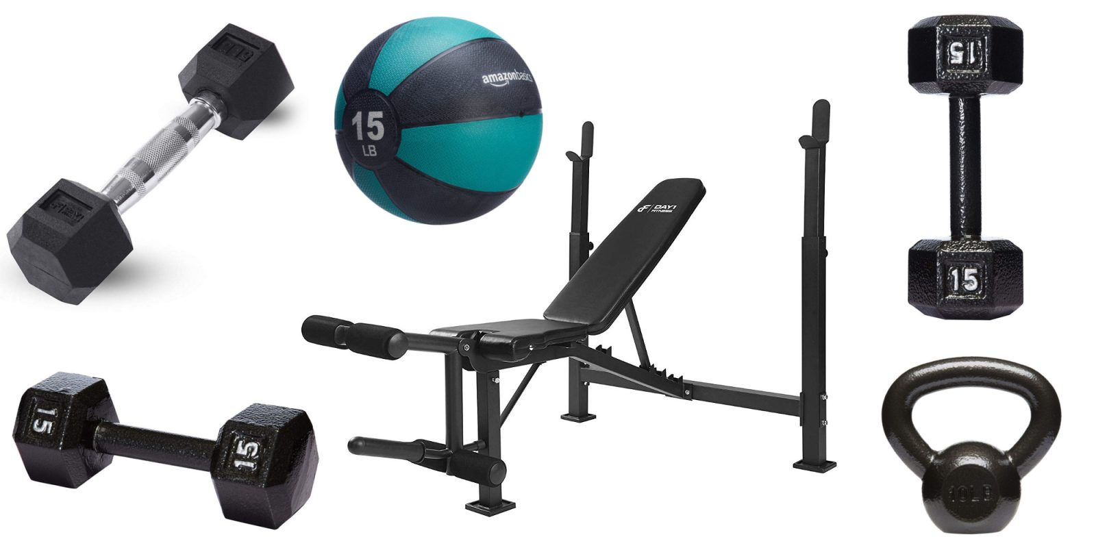 Prime Day fitness deals up to 30% off: dumbbells, benches, more from $12