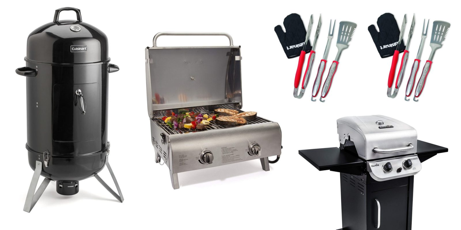 Grills and BBQ accessories from $11 for Prime Day: Cuisinart, Char-Broil, more