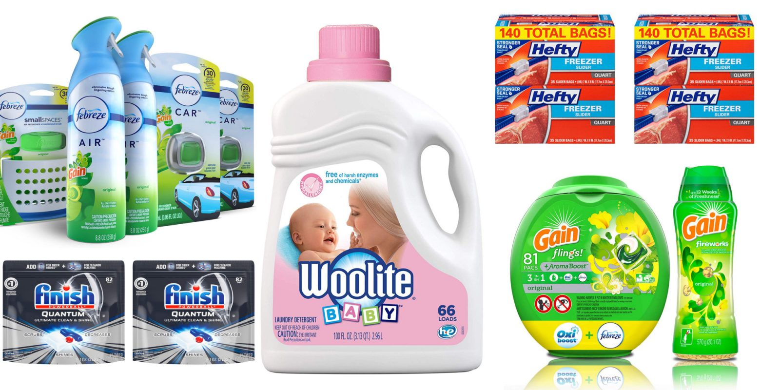 Prime Day household essentials from $3.50: Laundry pacs, Febreeze, much more
