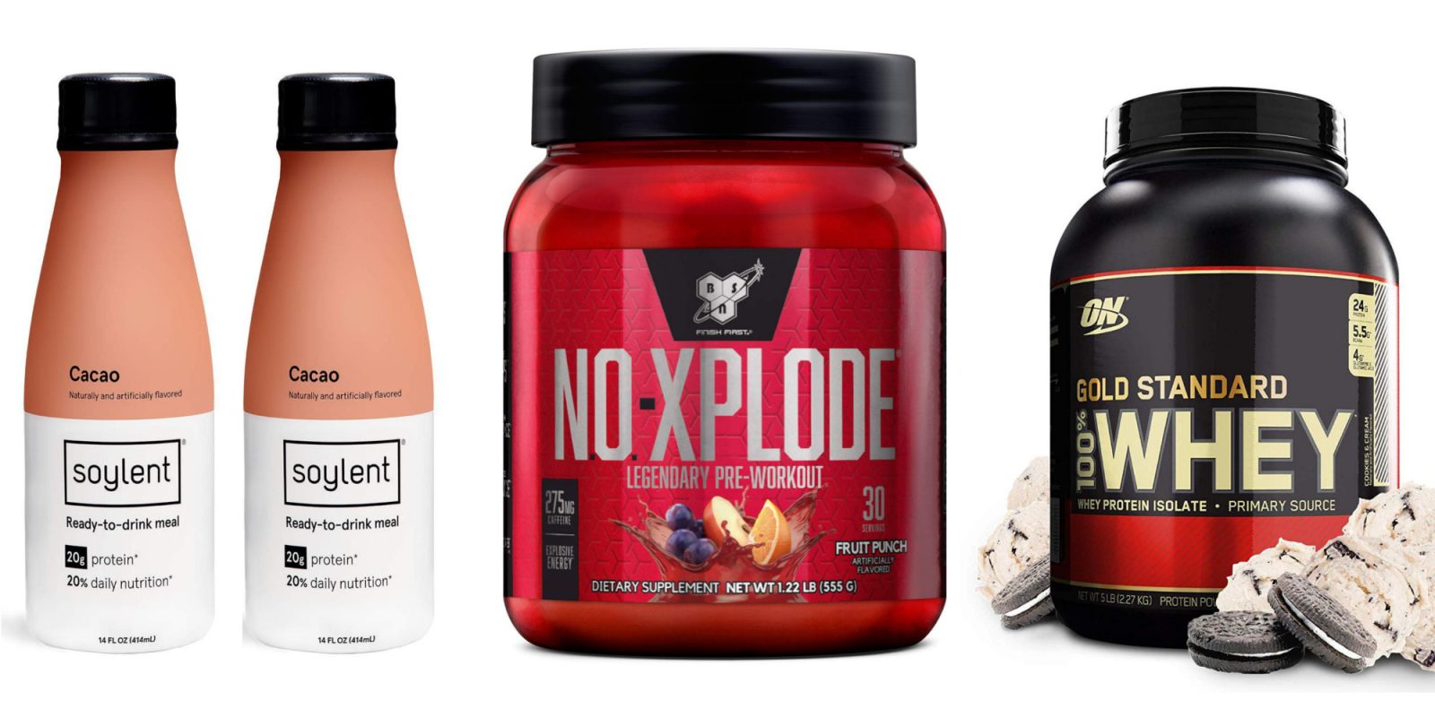 Prime Day Protein Powder Snack Deals From 8 50 On Bsn Soylent Quest More 9to5toys