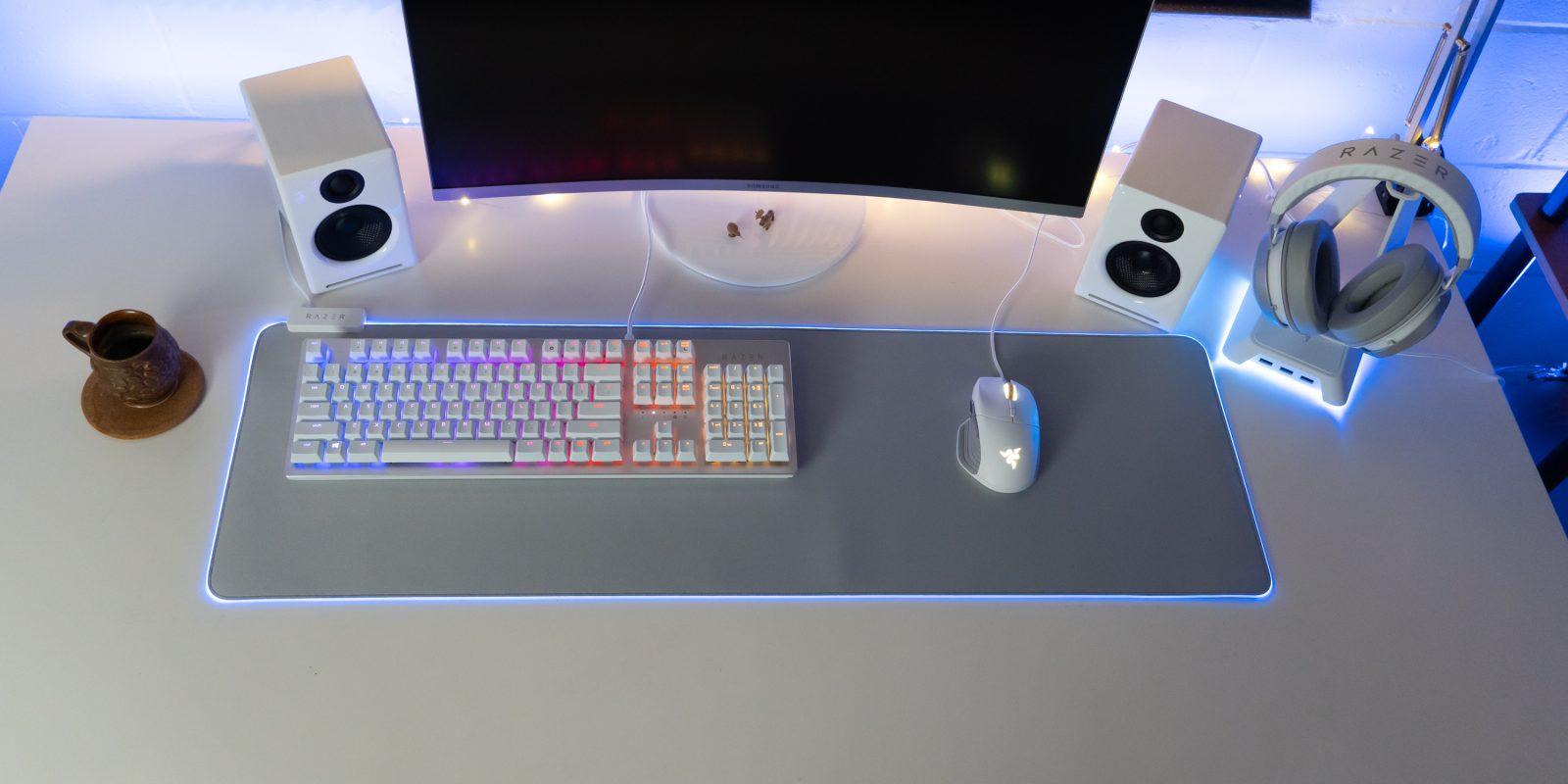 Razer Mercury Edition Quick Look: White gear for your battlestation [Video]