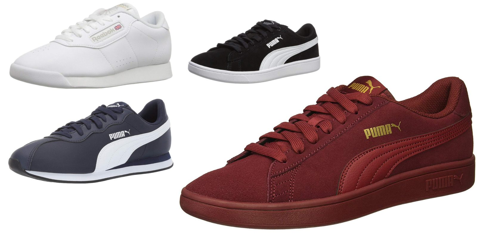 e8b4e5078 Classic Reebok and PUMA sneakers from $22.50 for Prime members (Up to 50%  off)