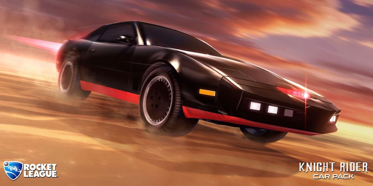 Rocket League Knight Rider DLC out now!