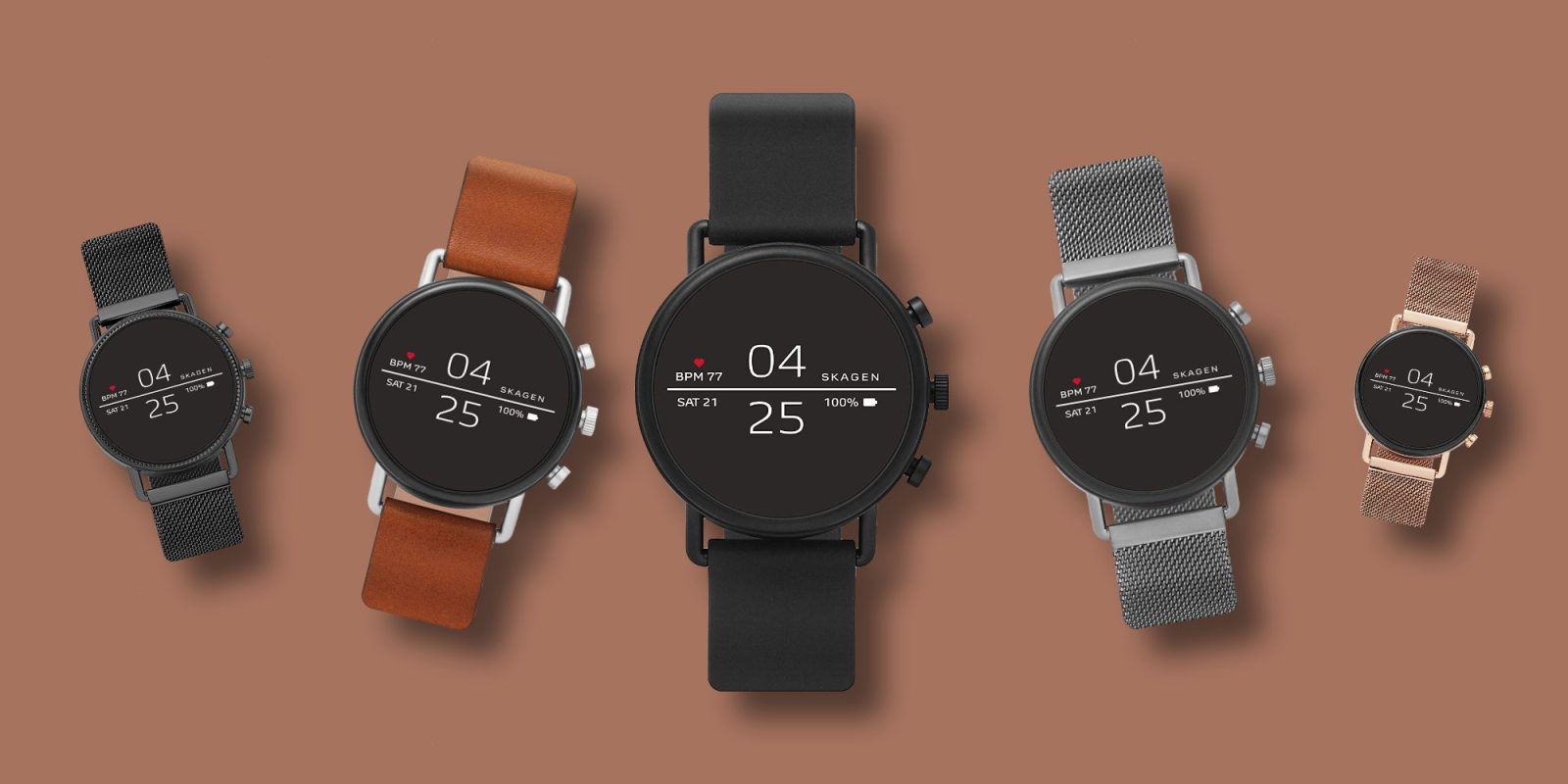 Skagen Falster 2 Smartwatch runs Wear OS + hits Amazon low of $179 (Save 40%)