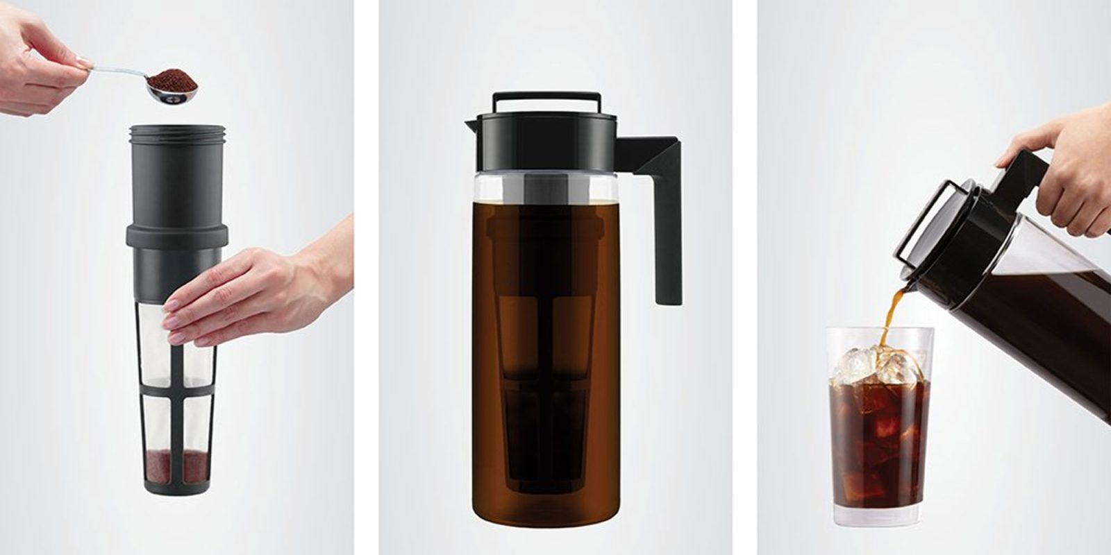 This Takeya Iced Coffee Maker carries 1-quart of cold brew for $16 (20% off)
