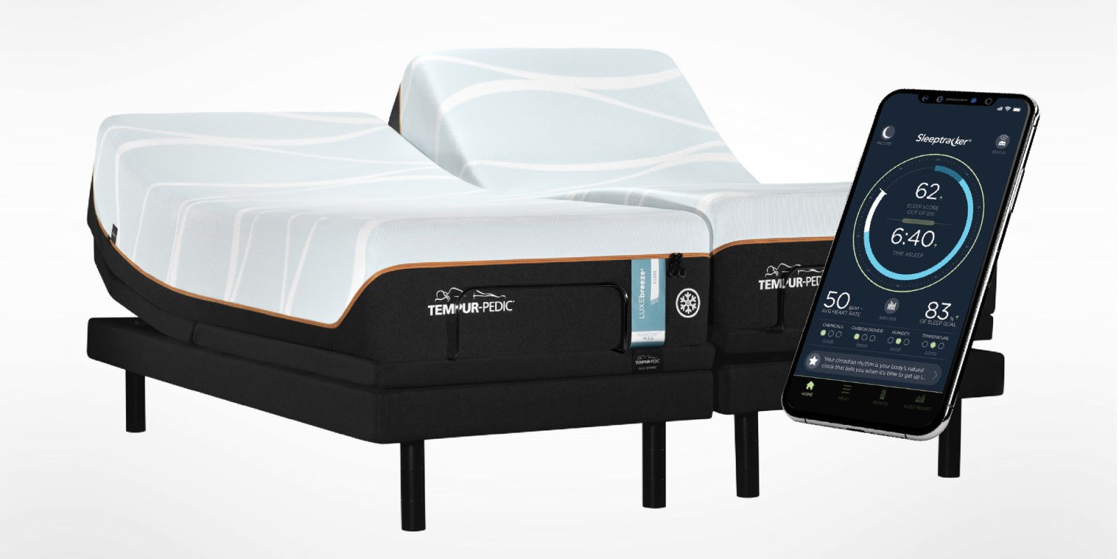The new TEMPUR-Ergo Smart Base automatically eases snoring, tracks sleep, more