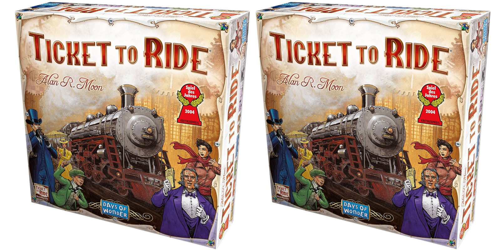 The classic Ticket to Ride board game hits the Amazon low at $20 (Reg. $45)