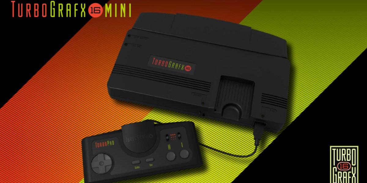 TurboGrafx-16 mini release date