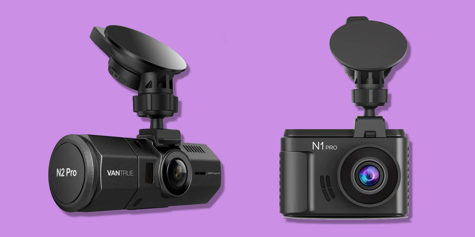 These dash cams record your drives in up to 1440p from $60 shipped