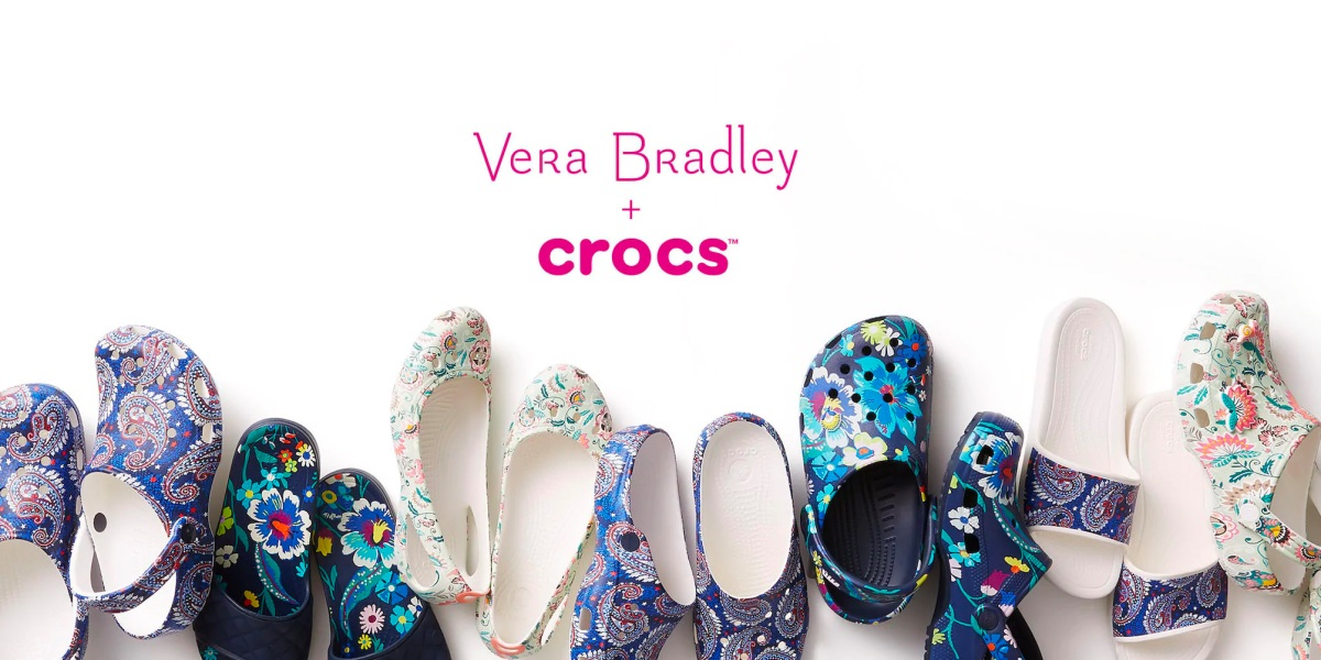 Vera Bradley Crocs Collaboration