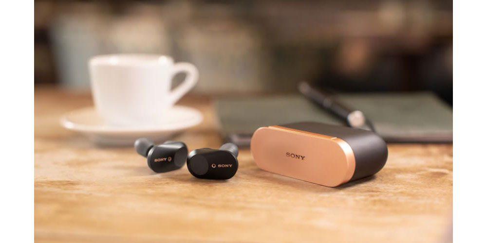 Sony WF-1000XM3 noise-cancelling in-ear headphones