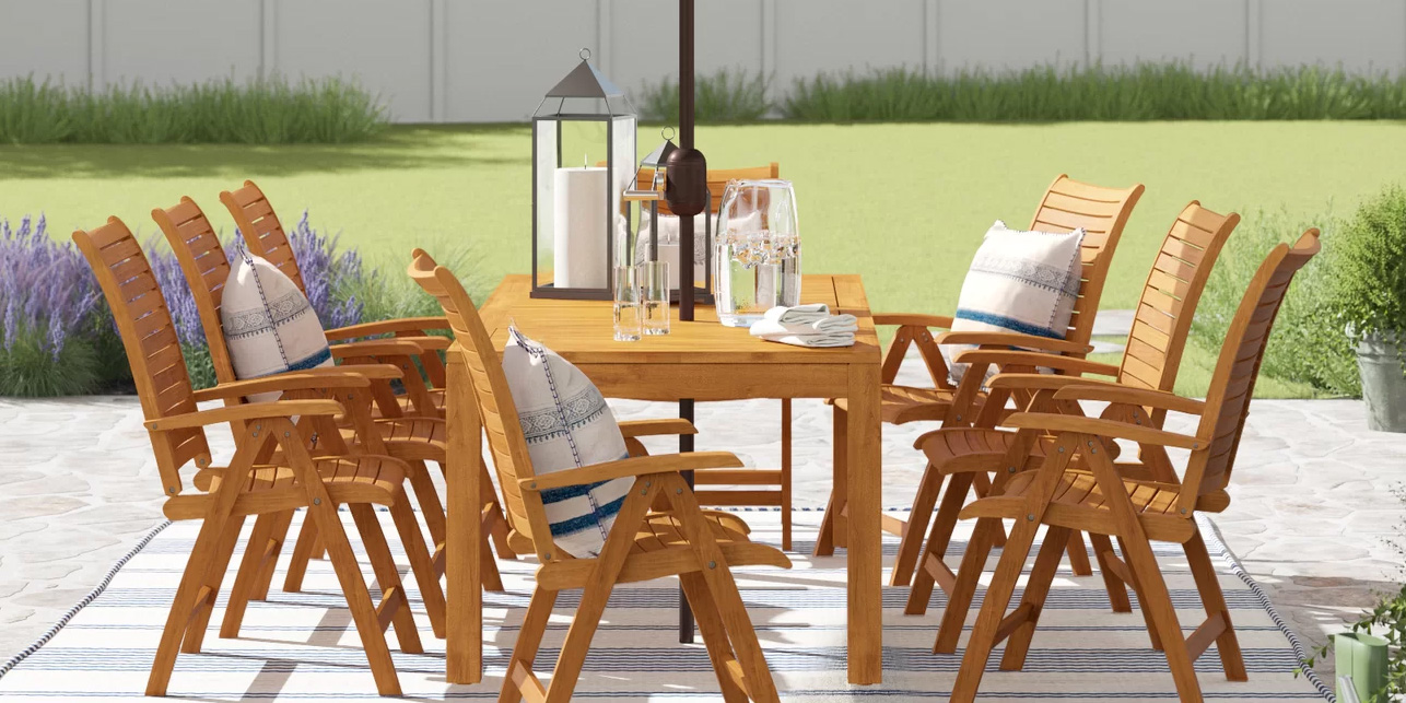 Wayfair Drops Up To 60% Off All Of Its Outdoor Furniture, Decor, Much More