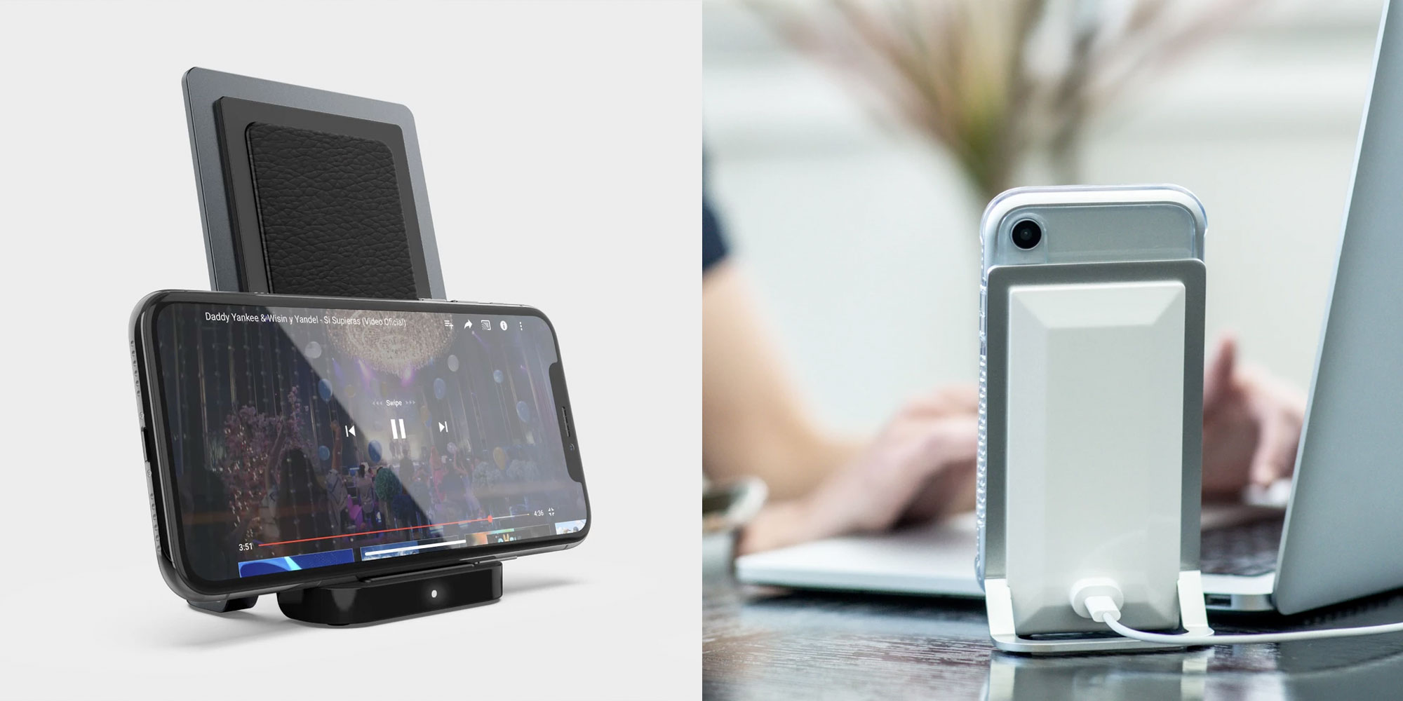 X-Doria Defense Vertical Wireless Qi Charger