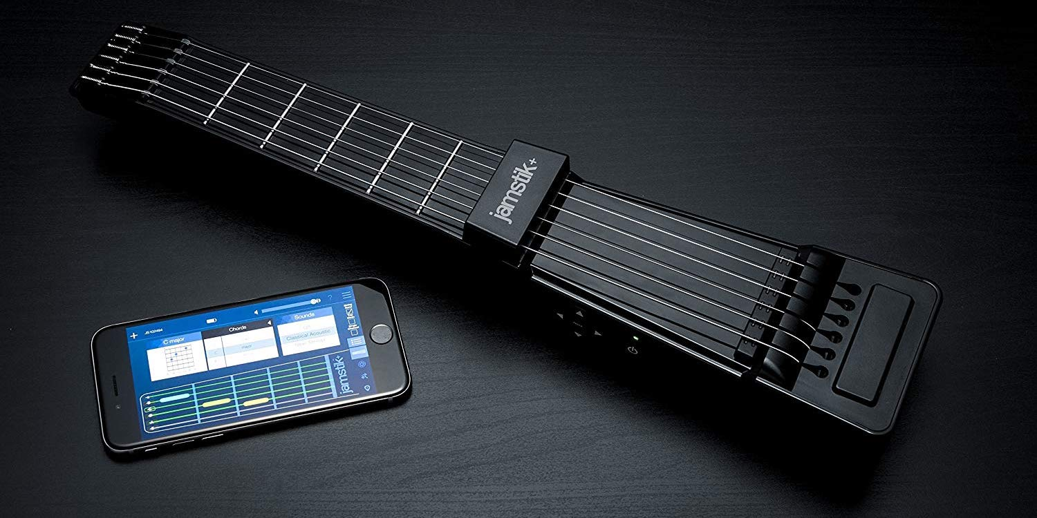 The Jamstik+ Smart Guitar for iOS/Mac now $50+ off for Prime Day 2019