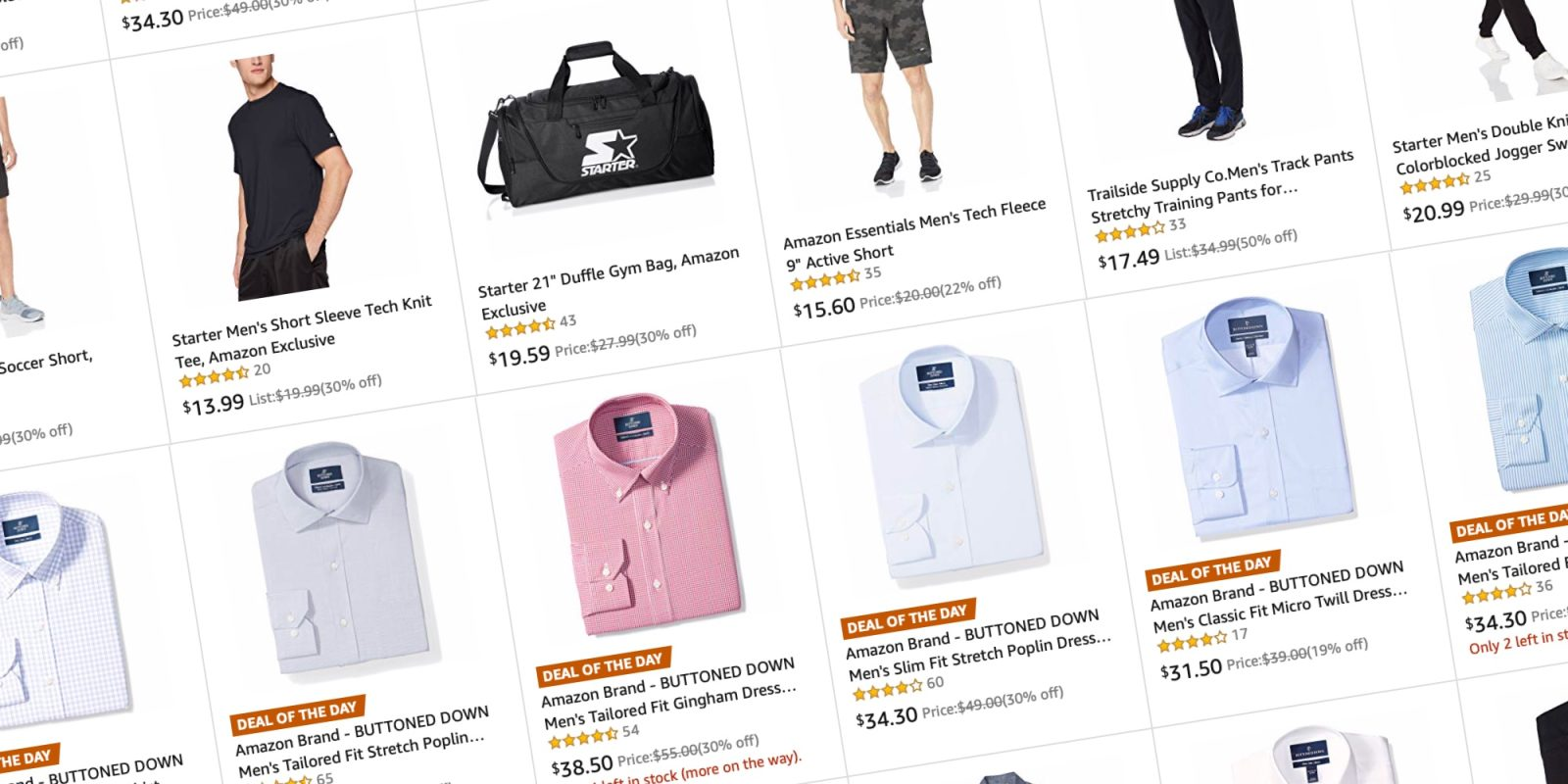 5c3356b2 Save up to 50% on Men's shirts and activewear, today only at Amazon from $10