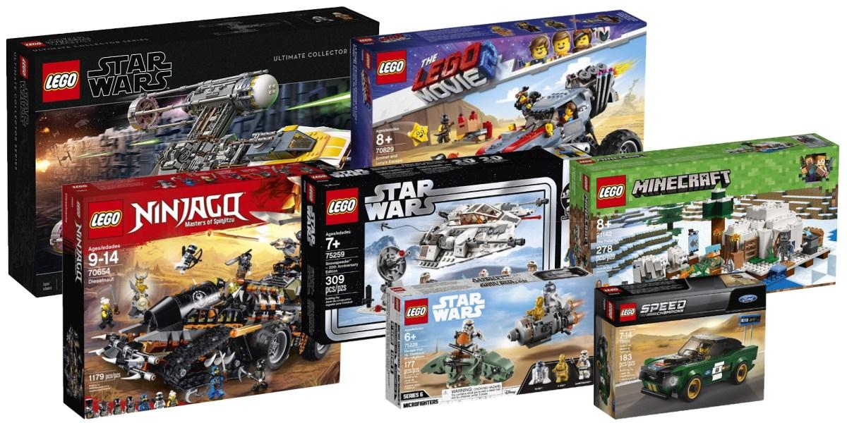 Best Amazon LEGO deals