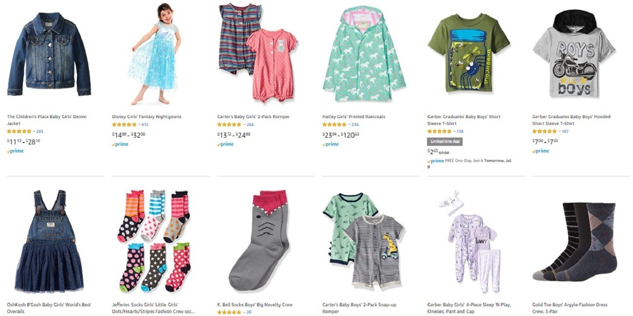 b2d7369dfff6f Kids' clothes from Children's Place, Carter's, more up to 30% off ...