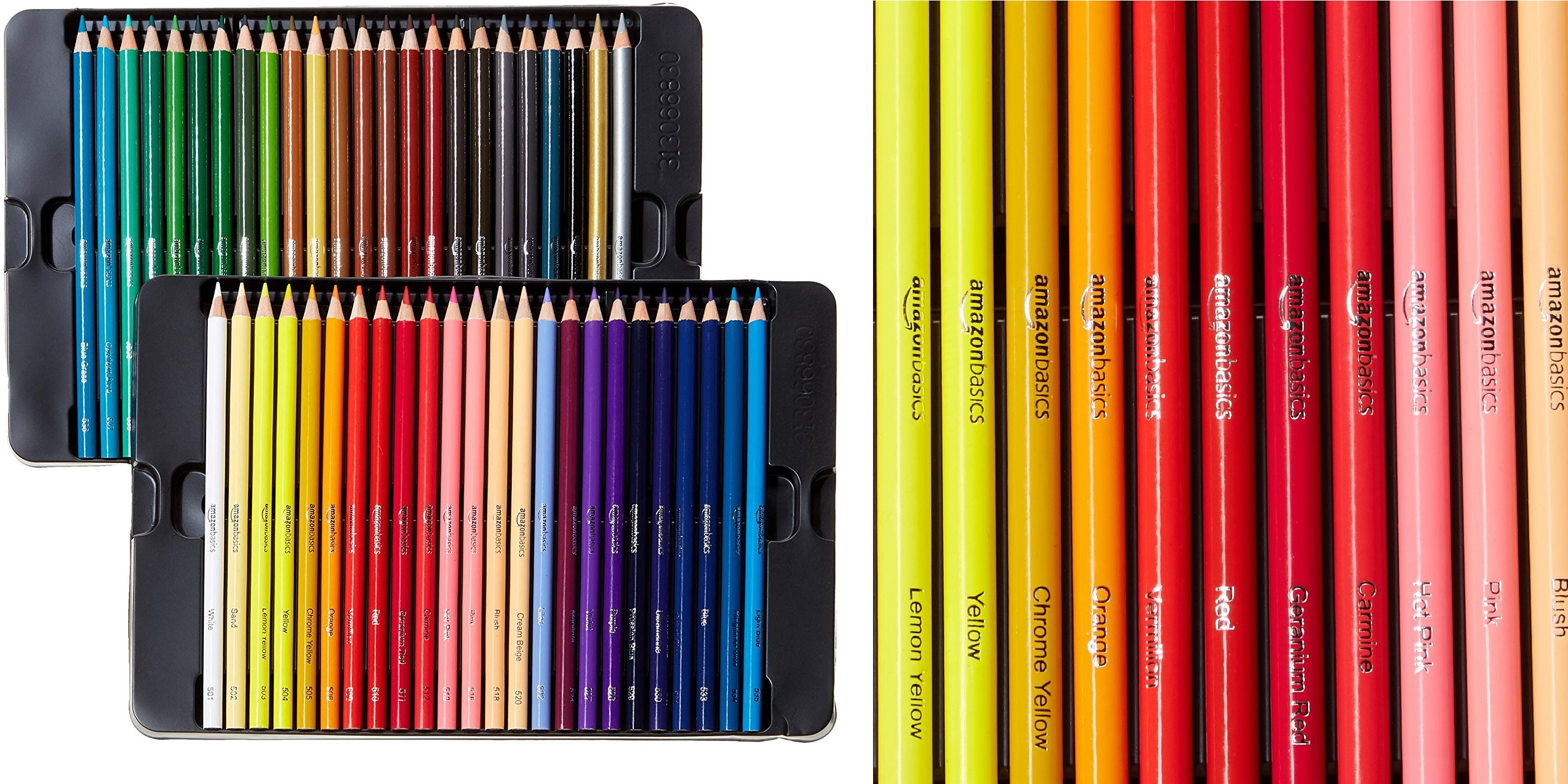 Basics Colored Pencils 48-Count Set