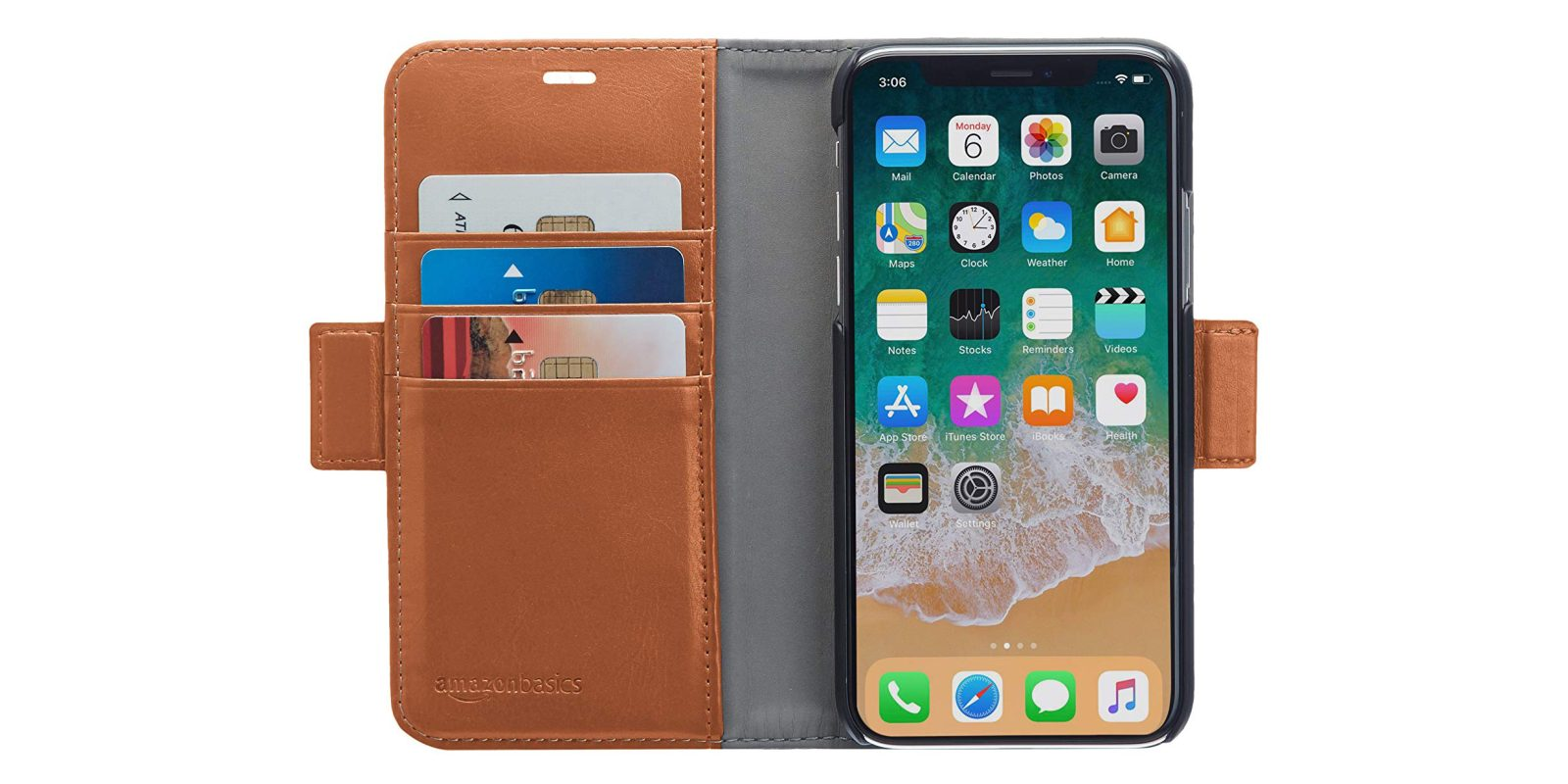 Amazon's iPhone X leather wallet case is yours for $8 (Reg. up to $25)