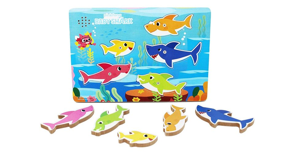 This Baby Shark puzzle plays music at only $10 (Reg  $15 or
