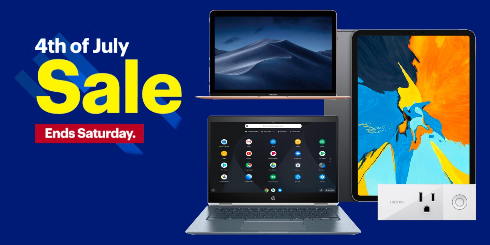 Best Buy July 4th sale now live: Save on MacBooks, iPads, Chromebooks, TVs, more