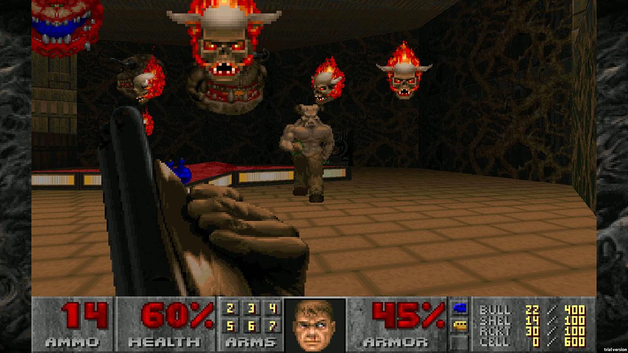 Classic DOOM games - DOOM 1 screenshot