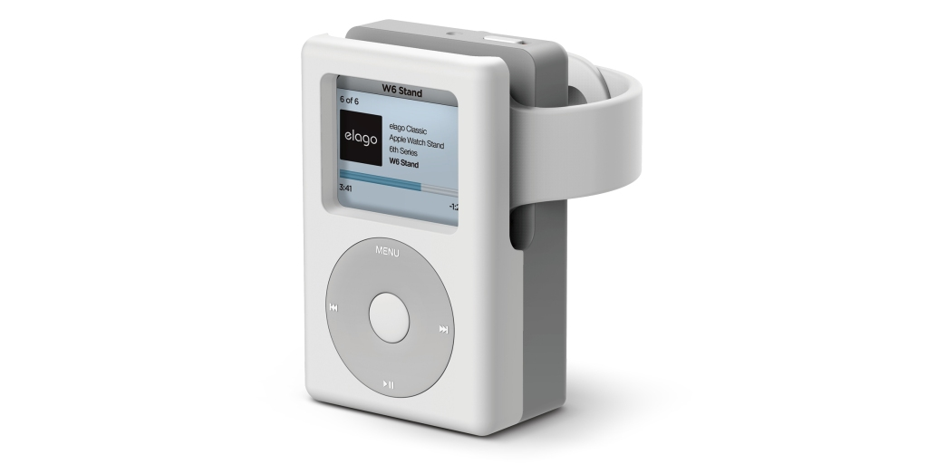 QnA VBage Elago W6 stand reimagines the iPod as an Apple Watch dock, available now