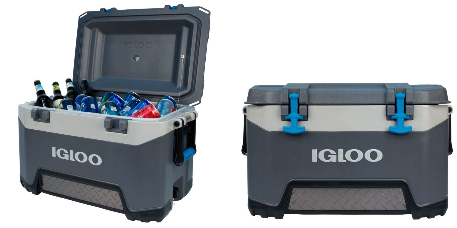 The Igloo BMX 52-quart Cooler retains ice for up to 5 days: $80 (Save 20%)