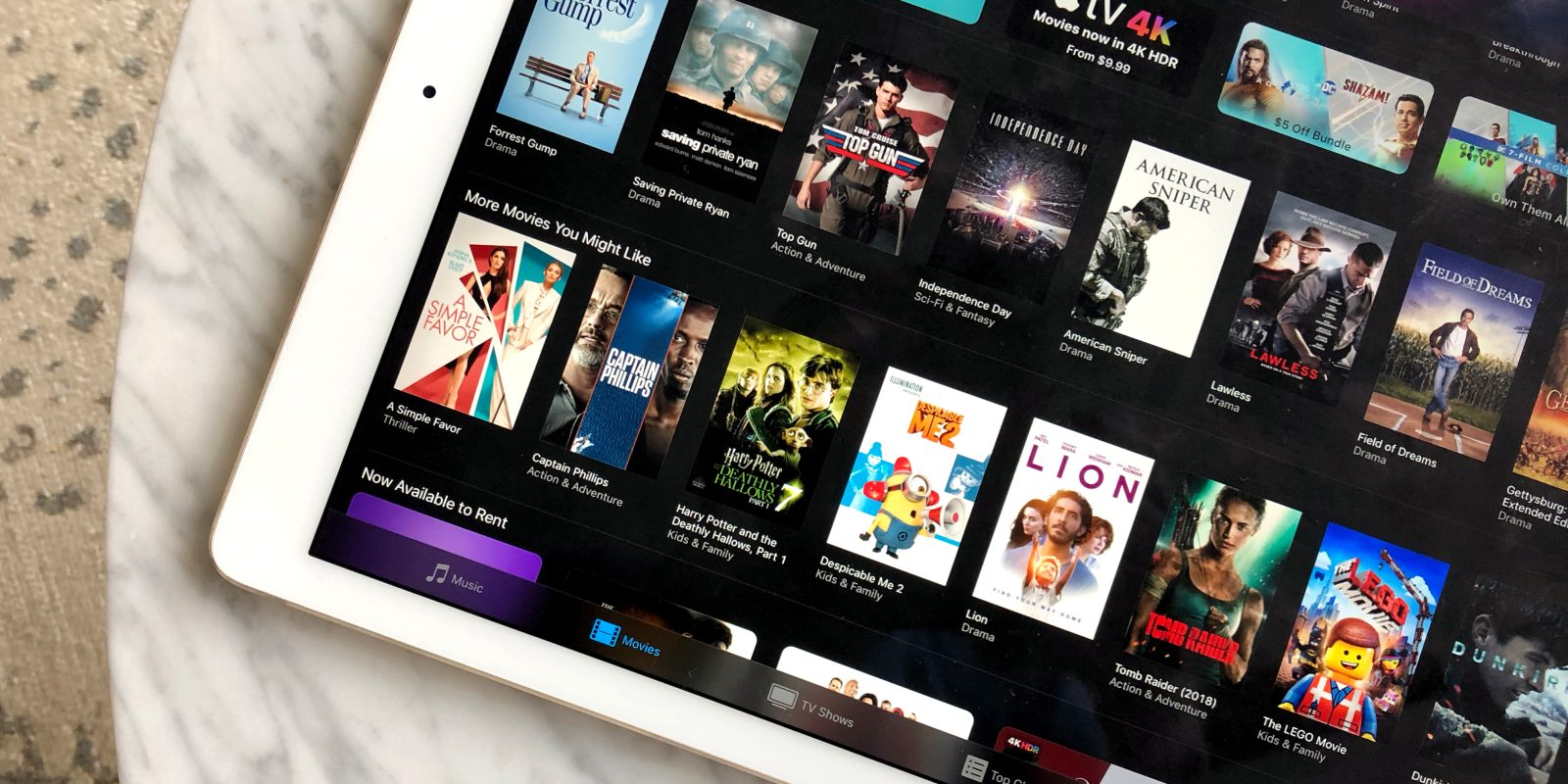 iTunes July 4th movie sale from $1: $5 films, '80s movies