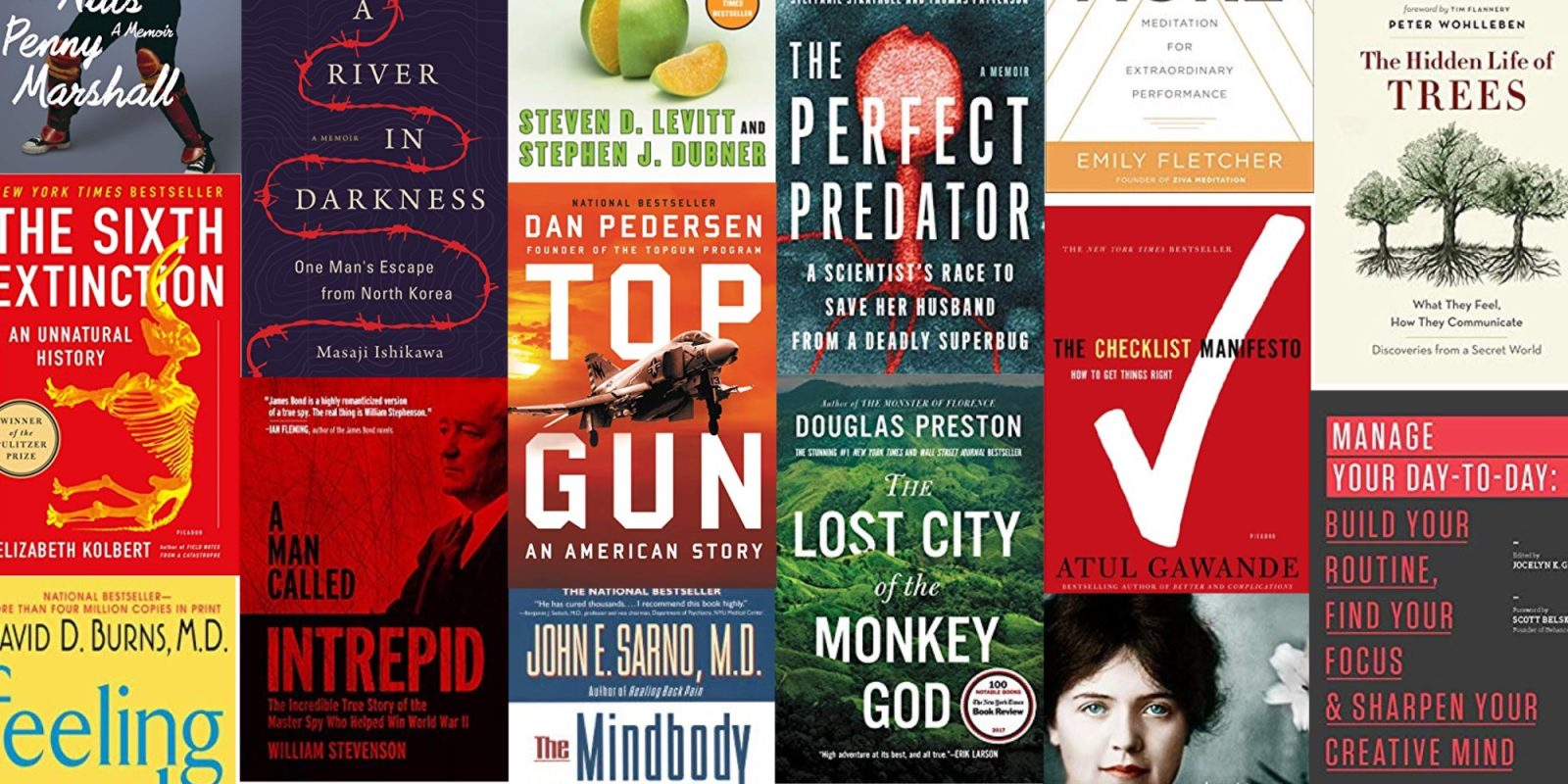 Expand your Kindle library with up to 80% off on nonfiction eBooks from $2
