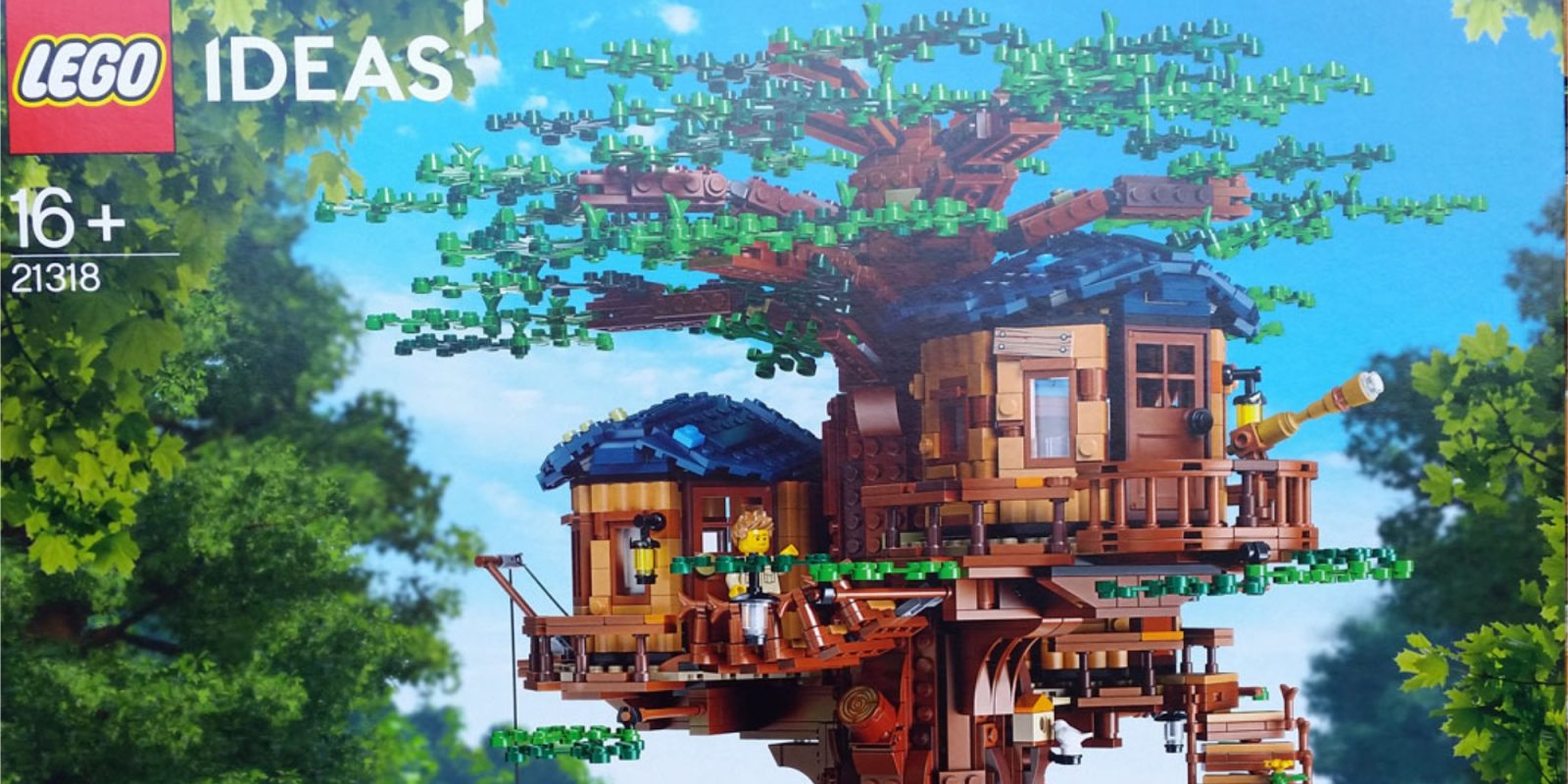 Get a first look at LEGO's 3,000-piece Treehouse, the largest Ideas kit yet