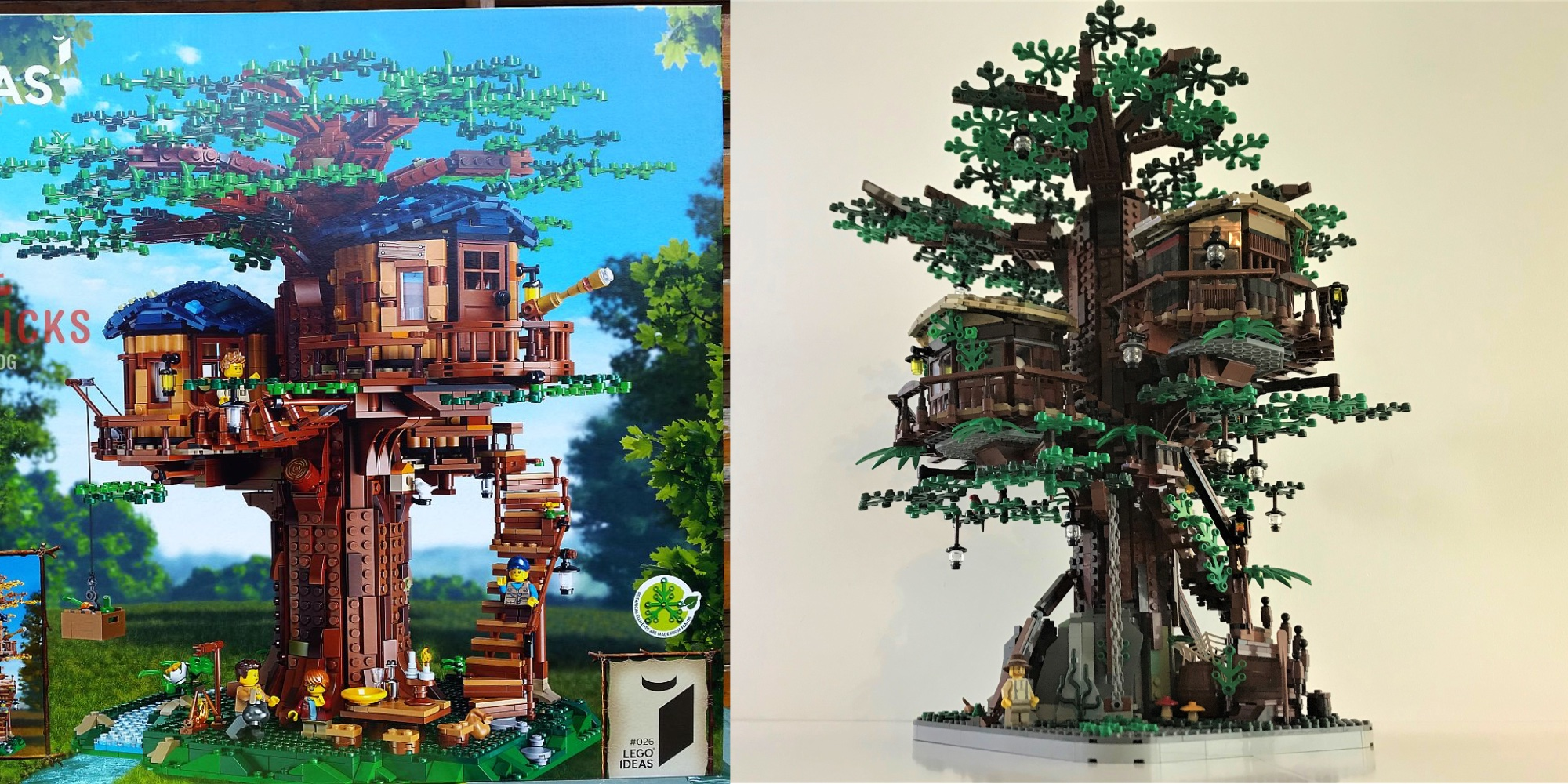 Picture of: Lego Ideas Treehouse Is The Largest Offical Fan Made Kit So Far 9to5toys