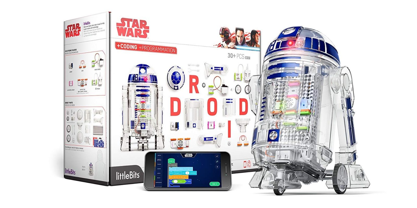 Have R2-D2 help you code with the $75 littleBits Droid Inventor Kit at 25% off