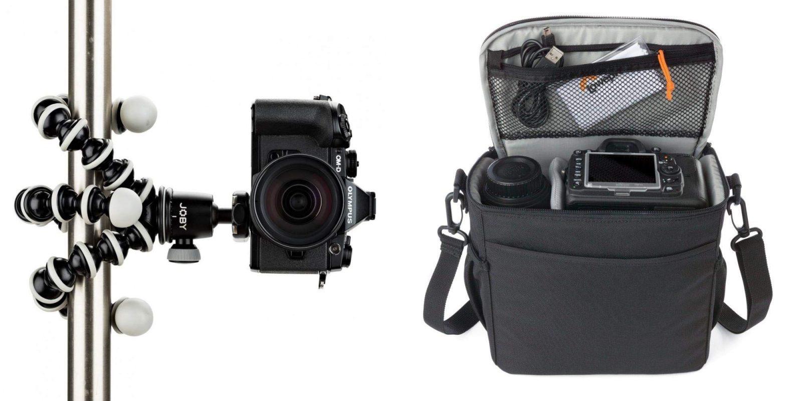 Bundle Lowepro's Camera Bag with the JOBY GorillaPod Tripod for $30 (Save 50%)