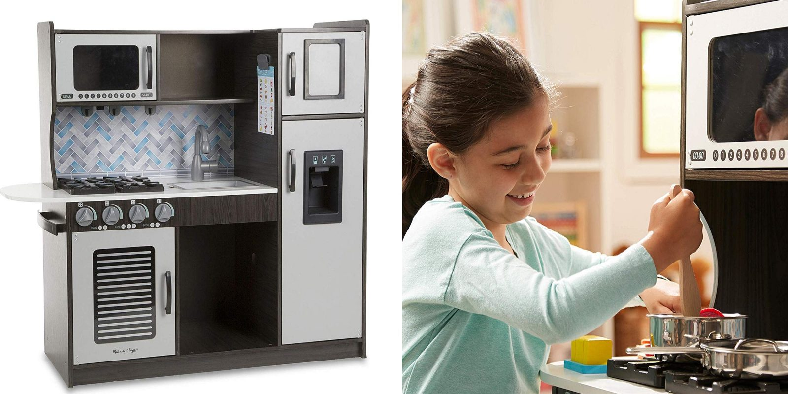 The Melissa And Doug Toy Kitchen Is Great For Budding Young