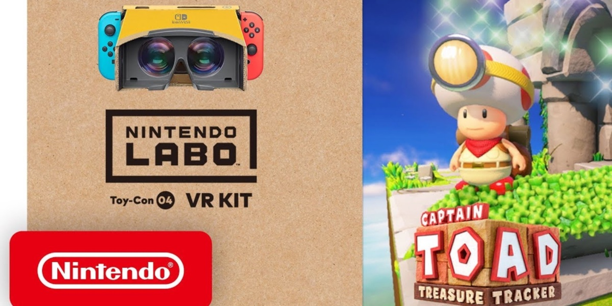 Captain Toad Labo VR