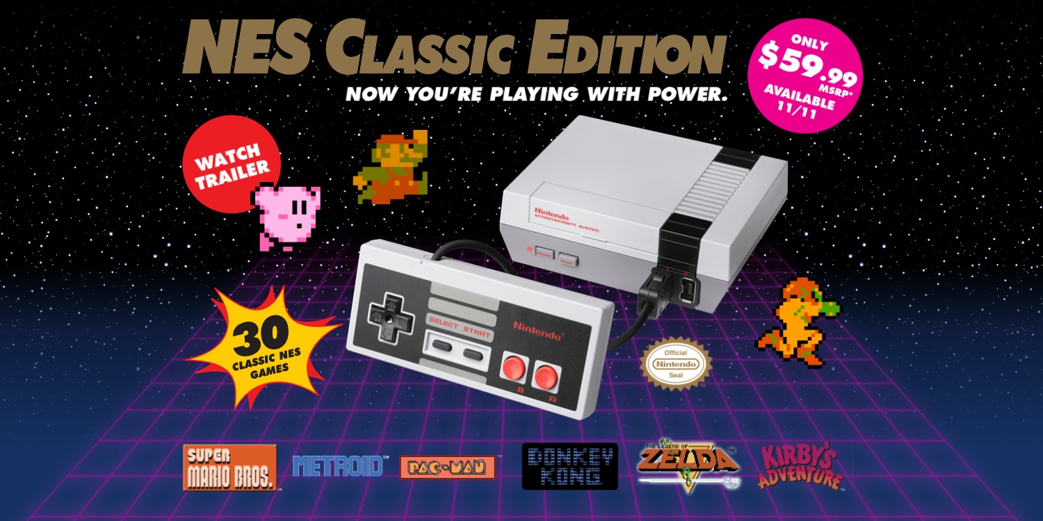 Score yourself a Nintendo refurb NES Classic Edition console today for $50