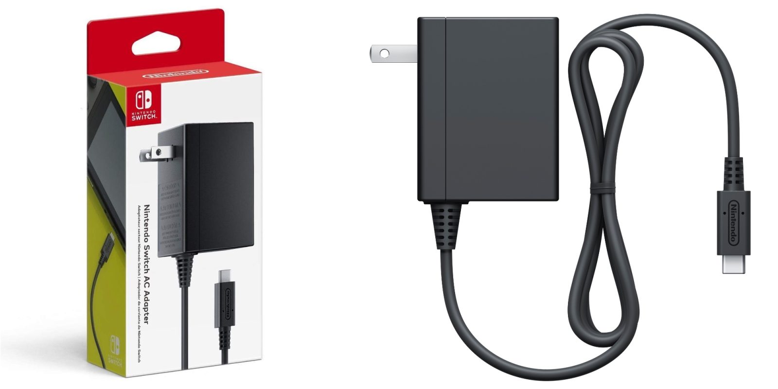Grab Nintendo's official Switch USB-C Power Adapter at a low