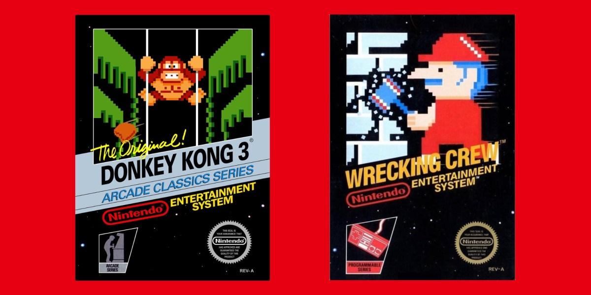 Donkey Kong 3 Switch