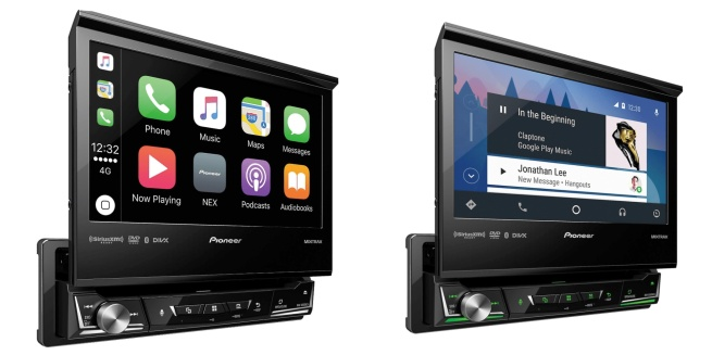 Pioneer 7-inch CarPlay Receiver