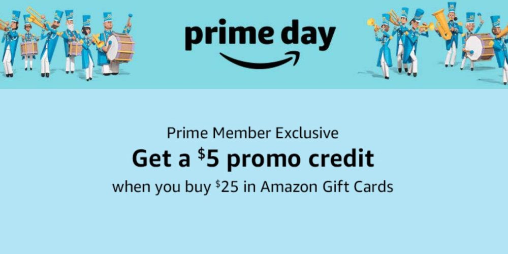 Buy a $25 Amazon gift card for Prime Day, get a $5 bonus FREE - 9to5Toys