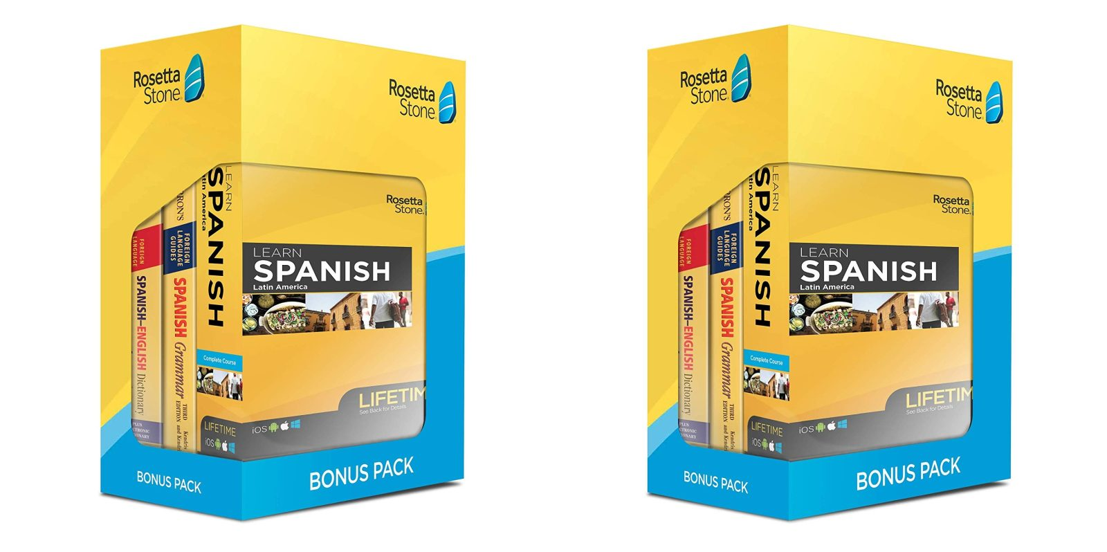 Learn Spanish with the Rosetta Stone Bonus Pack at $219