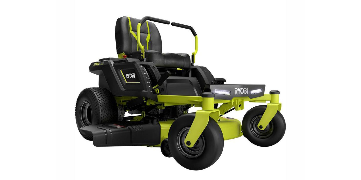 Today only, Home Depot offers Ryobi electric outdoor tools and more from $39