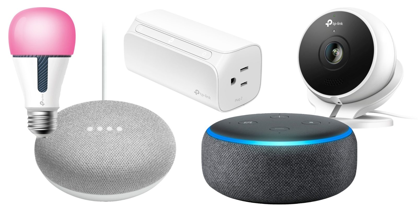 Score a FREE Echo Dot or Home Mini with TP-Link smart home orders over $100